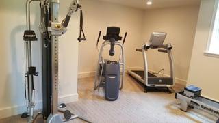 Home gym ideas image 4