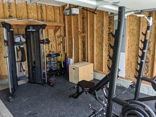 Home gym ideas image 3