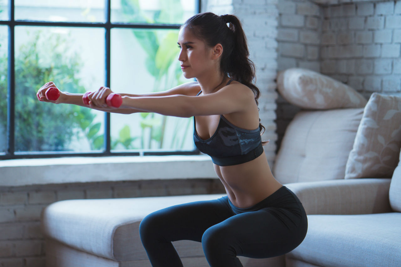 girl-workout-at-home